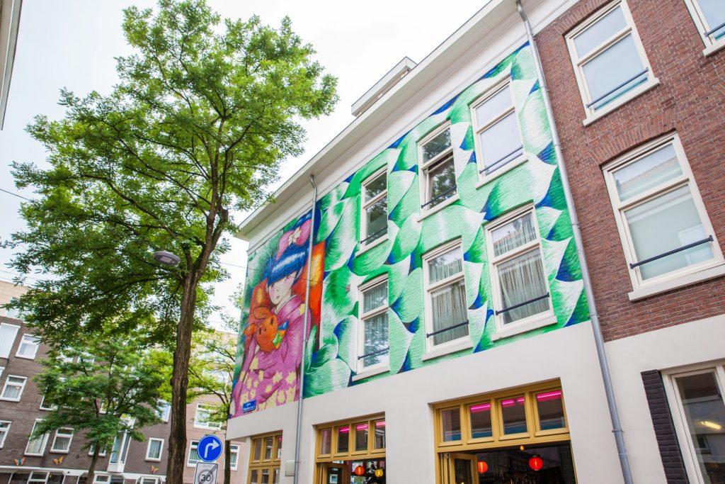 Rotterdam Streetart Museum - maison savant - sharon van dams